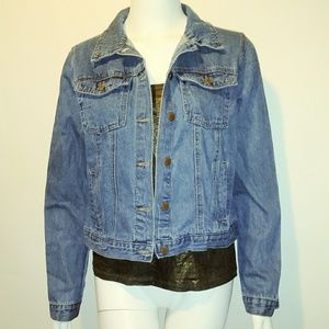 Medium Forever 21 PREMIUM jean jacket